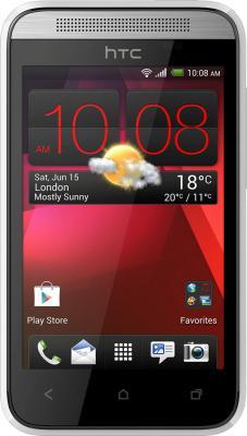 Смартфон HTC Desire 200 (белый) - общий вид