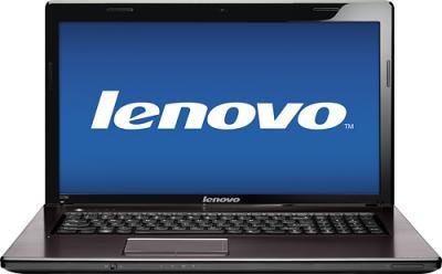 Ноутбук Lenovo IdeaPad G780A (59360035) - фронтальный вид