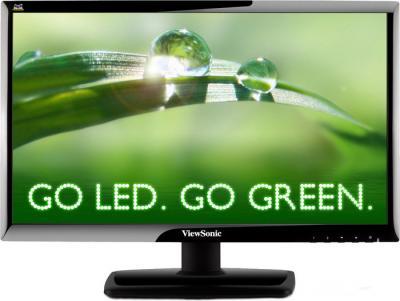 Монитор Viewsonic VX2210mh-LED - фронтальный вид