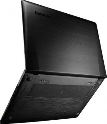 Ноутбук Lenovo IdeaPad Y500 (59376219) - вид сзади