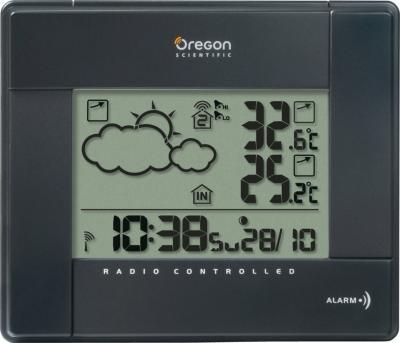 Метеостанция цифровая Oregon Scientific BAR386 - фронтальный вид