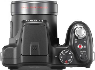 Компактный фотоаппарат Panasonic Lumix DMC-LZ30 (DMC-LZ30EE-К) - вид сверху