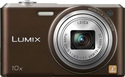 Компактный фотоаппарат Panasonic Lumix DMC-SZ3 (DMC-SZ3EE-T) - вид спереди