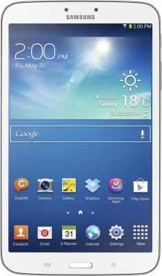 Планшет Samsung Galaxy Tab 3 7.0 SM-T211 (8GB 3G White) - фронтальный вид
