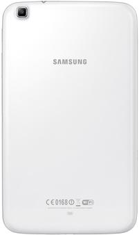 Планшет Samsung Galaxy Tab 3 7.0 SM-T211 (8GB 3G White) - вид сзади