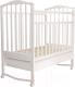 Кроватка Агат Золушка 2 (белый) -