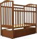 Кроватка Агат Золушка 6 (орех) -