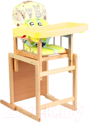 Купить стульчик для кормления деревянный в москве