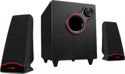 Мультимедиа акустика F&D F203G Plus - общий вид