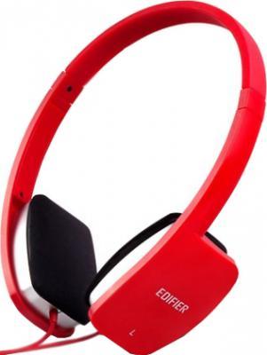 Наушники-гарнитура Edifier K680 (красный) - общий вид