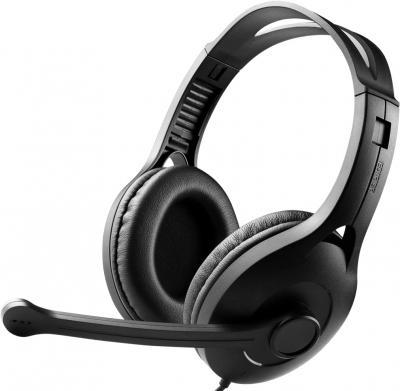 Наушники-гарнитура Edifier K800 (Black) - общий вид
