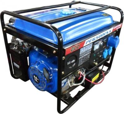 Бензиновый генератор Eco PE 6500 ESA - общий вид
