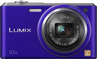 Компактный фотоаппарат Panasonic Lumix DMC-SZ3EE-V - вид спереди