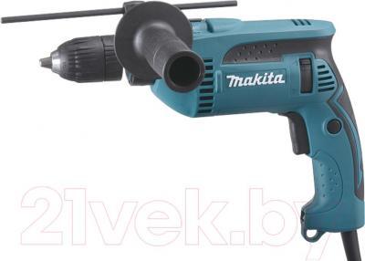 Профессиональная дрель Makita HP1641F - общий вид