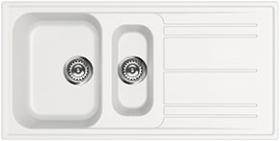Мойка кухонная Smeg LZ102B - общий вид
