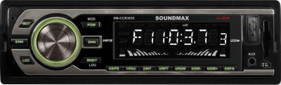 Бездисковая автомагнитола SoundMax SM-CCR3035 - общий вид