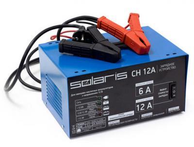 Зарядное устройство для аккумулятора Solaris CH 12A - общий вид