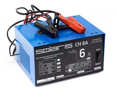 Зарядное устройство для аккумулятора Solaris CH 6A - общий вид