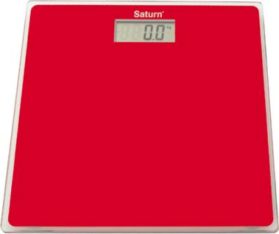 Напольные весы электронные Saturn ST-PS1247 (Red) - общий вид