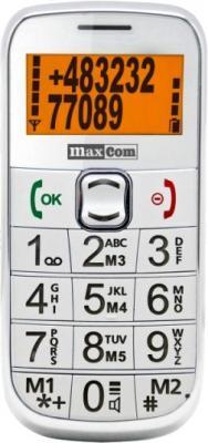 Мобильный телефон MaxCom MM460BB (White) - общий вид