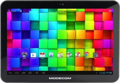 Планшет Modecom FreeTAB 1014 IPS X4+ - фронтальный вид