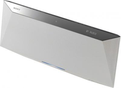 Микросистема Sony CMT-BT60 (White) - общий вид