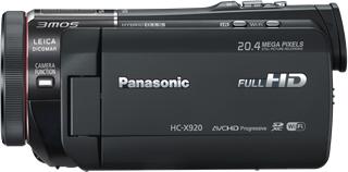 Видеокамера Panasonic HC-X920EE-K - вид сбоку