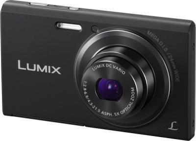 Компактный фотоаппарат Panasonic Lumix DMC-FS50EE-K - общий вид