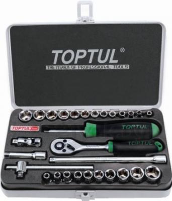 Универсальный набор инструментов Toptul GCAD2902 (29 предметов) - общий вид