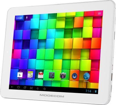 Планшет Modecom FreeTAB 8014 IPS X4 16GB (белый) - общий вид