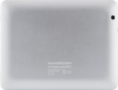 Планшет Modecom FreeTAB 8014 IPS X4 16GB (белый) - вид сзади