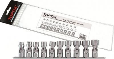 Набор оснастки Toptul GAAG1004 (10 предметов) - общий вид