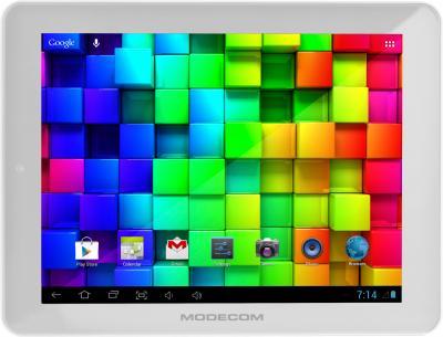 Планшет Modecom FreeTAB 9704 IPS2 X4 (белый) - фронтальный вид