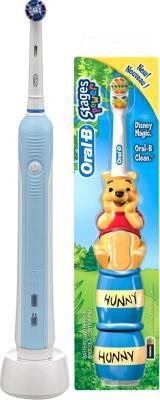 Электрическая зубная щетка Braun Oral-B ProfessionalCare 500 D16.513.U + Oral-B Stages Power (81411149) - комплектацию и расцветки уточняйте у оператора