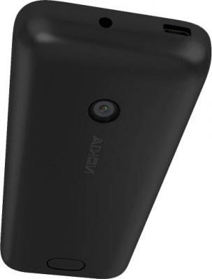 Мобильный телефон Nokia 208 (Black) - задняя панель