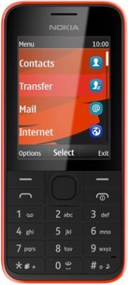 Мобильный телефон Nokia 208 (Red) - общий вид
