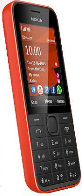 Мобильный телефон Nokia 208 (Red) - вид сбоку