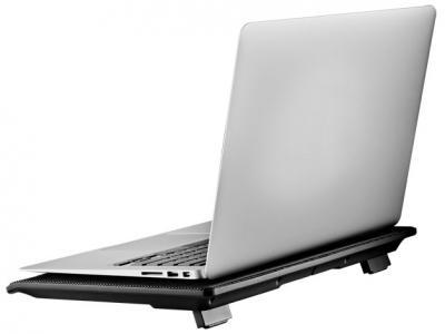 Подставка для ноутбука Cooler Master NotePal I100 Black (R9-NBC-I1HK-GP) - с ноутбуком