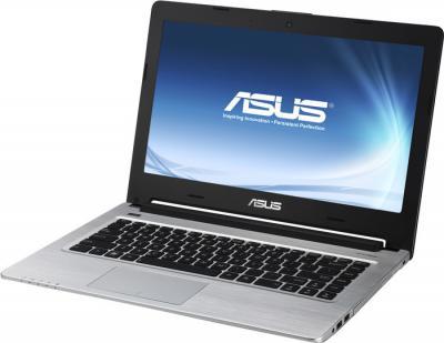 Ноутбук Asus K46CM-WX054H - фронтальный вид