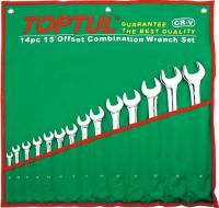 Набор однотипного инструмента Toptul GBAA1603 (16 предметов) -