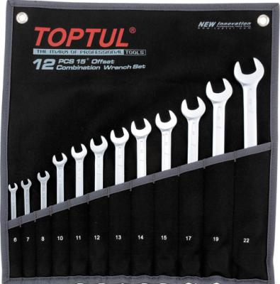 Набор однотипного инструмента Toptul GPAB1204 (12 предметов) - общий вид