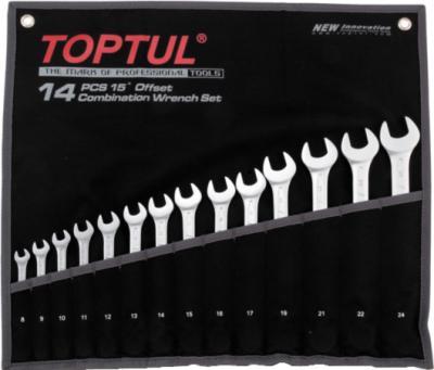 Набор однотипного инструмента Toptul GPAB1602 (16 предметов) - общий вид