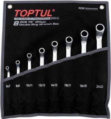 Набор однотипного инструмента Toptul GPAI0802 (8 предметов) - общий вид