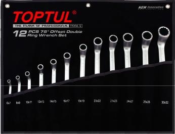 Набор однотипного инструмента Toptul GPAI1202 (12 предметов) - общий вид