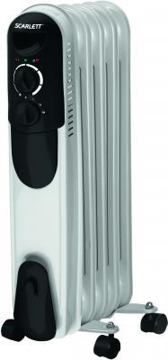 Масляный радиатор Scarlett SC-054 (White) - общий вид
