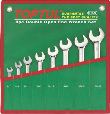 Набор однотипного инструмента Toptul GAAA0812 (8 предметов) - общий вид