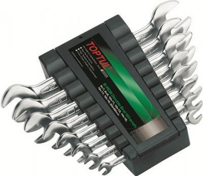 Набор однотипного инструмента Toptul GAAC0802 (8 предметов) - общий вид
