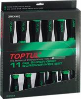Набор однотипного инструмента Toptul GAAE1101 (11 предметов) -