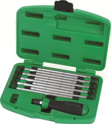Набор однотипного инструмента Toptul GAAI2101 (11 предметов) - общий вид