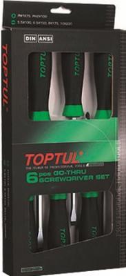 Набор однотипного инструмента Toptul GAAE0608 (6 предметов) - общий вид